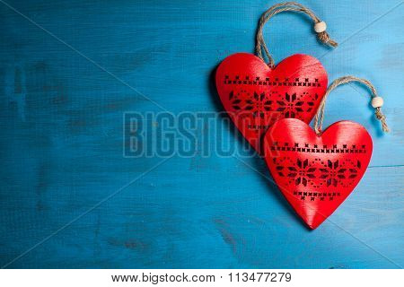 Heart for valentine's day or christmas (xmas)