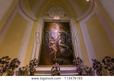 Chiesa San Michele Church, Anacapri, Italy