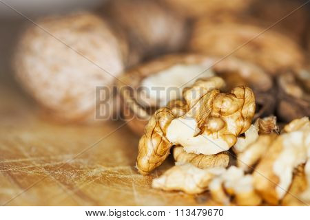 Natural, healthy and tasty walnuts