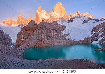 Fitz Roy Mountain.