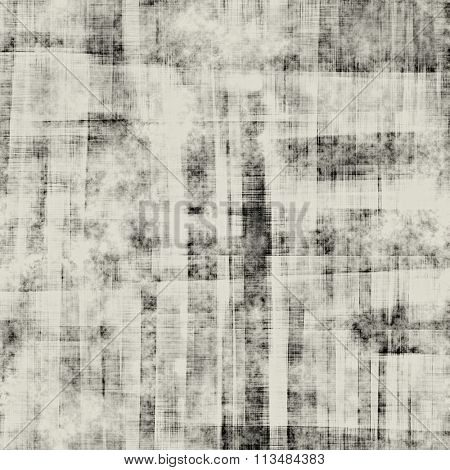 art abstract monochrome black and white beige graphic and watercolor background; seamless geometric pattern