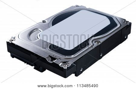 Hard Disk (isolated On White)