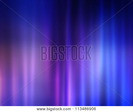 Motion Blurred Lights Abstract Background