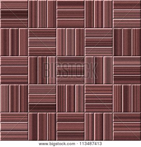 Brown Wood Parquet