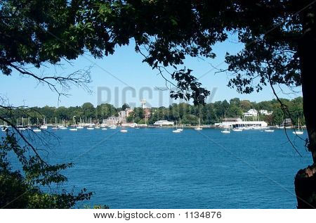 View Of Youngstown On Niagara River