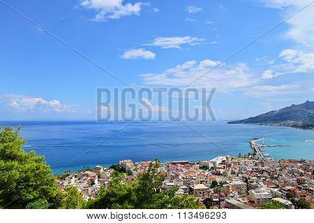 Lookout From Bohali In Zakynthos