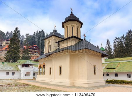 The Old Church at the Sinaia Monastery, Romania