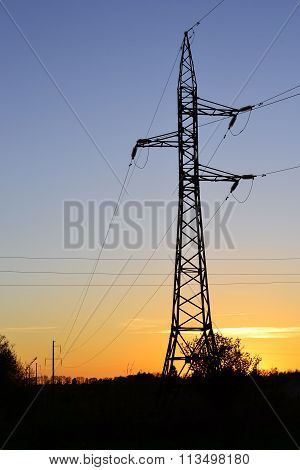 Electricity Pylons, Power Lines