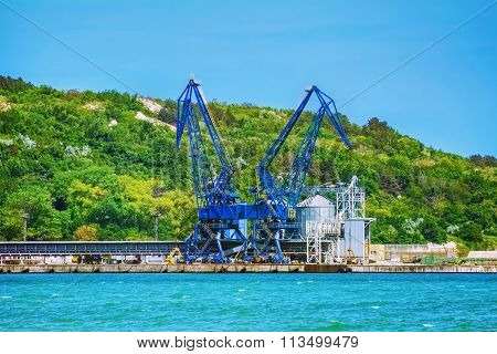 Harbour Level Luffing Crane