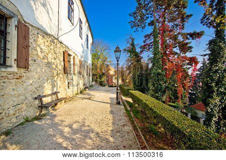Zagreb Upper Town Park Walkway