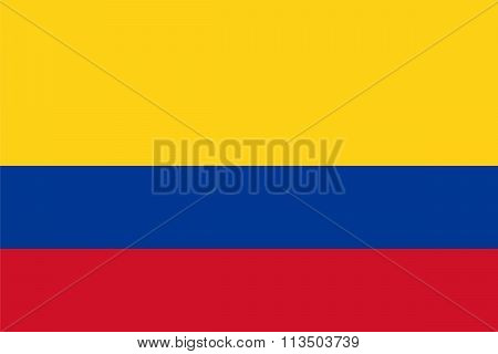 Standard Proportions For Colombia Flag