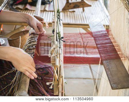 Weaving Silk