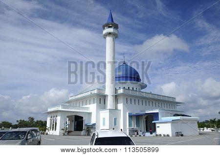 Mersing Town Jamek Mosque at Mersing, Malaysia
