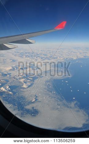 Greenland out of plane