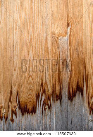 Dirty, partly weathered wood texture