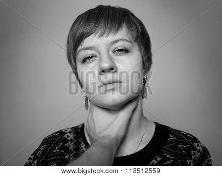 Home Violence Woman