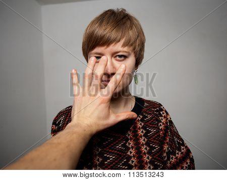Domestic Violence Woman