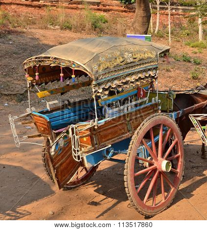 Cart Taxi In Mandalay