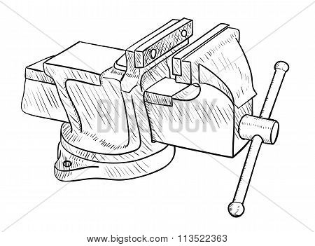 Vise, Hand Tool
