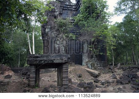 Small Temple In Angkor Wat, Cambodia