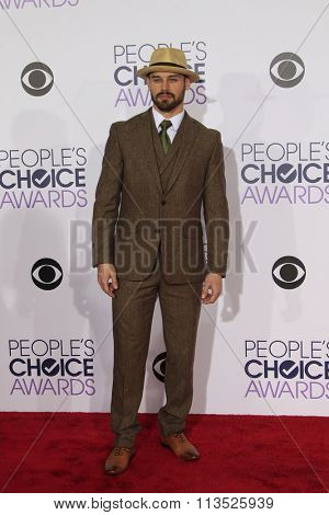 LOS ANGELES - JAN 6:  Ryan Guzman at the Peoples Choice Awards 2016 - Arrivals at the Microsoft Theatre L.A. Live on January 6, 2016 in Los Angeles, CA