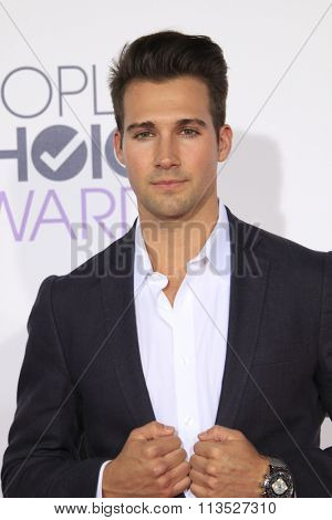 LOS ANGELES - JAN 6:  James Maslow at the Peoples Choice Awards 2016 - Arrivals at the Microsoft Theatre L.A. Live on January 6, 2016 in Los Angeles, CA