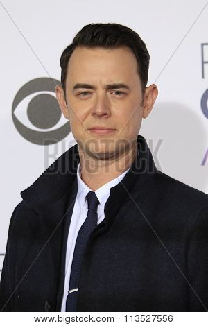 LOS ANGELES - JAN 6:  Colin Hanks at the Peoples Choice Awards 2016 - Arrivals at the Microsoft Theatre L.A. Live on January 6, 2016 in Los Angeles, CA