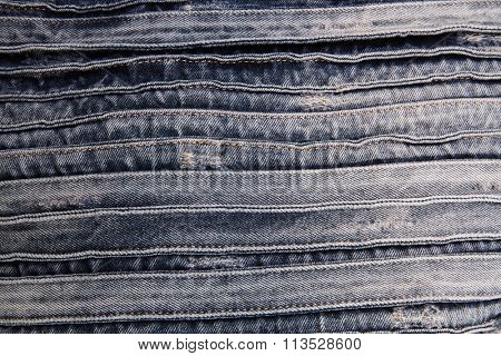 Jeans fabric background