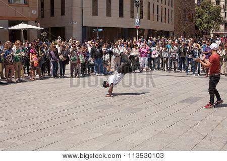 Street Performers Barcelona