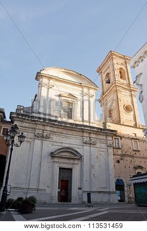 Church Of Saint Domenico In Chieti (italy)