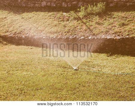 Irrigation Sprinkler Vintage