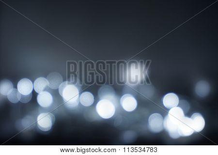 Blured christmas lights