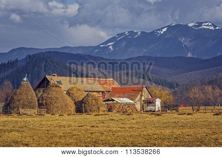 Romanian Traditional Rustic Farm