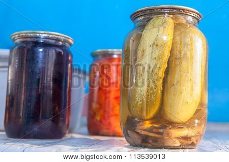 domestic canned cucumbers