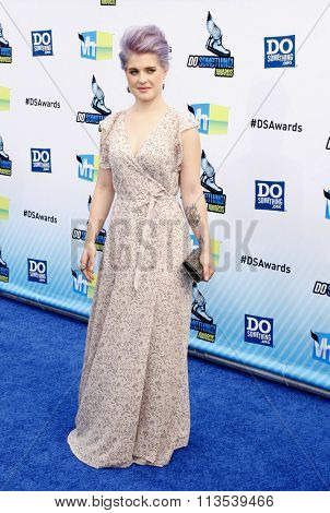 Kelly Osbourne at the 2012 Do Something Awards held at the Barker Hangar in Los Angeles, USA on August 19, 2012.