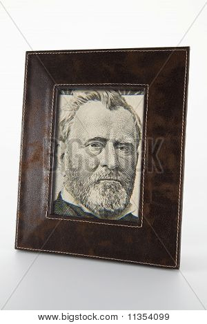 photo frame with the portrait of Ulysses S. Grant