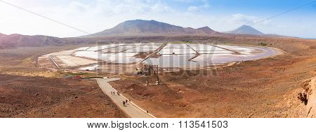 Panoramic View Of Salinas  In Sal Cape Verde - Cabo Verde
