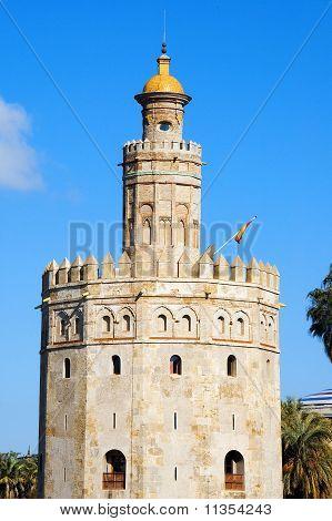 Torre Del Oro, In Seville, Spain