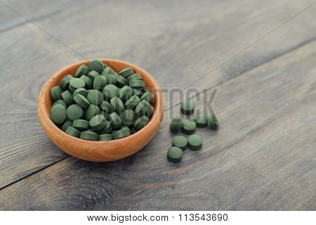 Spirulina In Pills