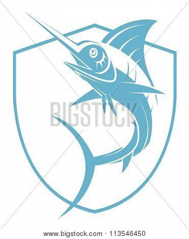 Marlin Fish Tattoo