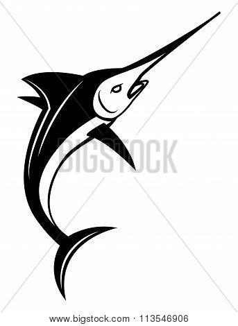 Marlin Fish Symbol vector design .eps 10 illustration design