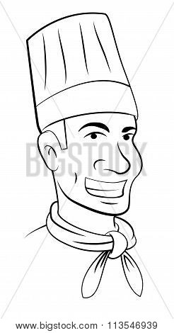 Chef Head vector design .eps 10 illustration design