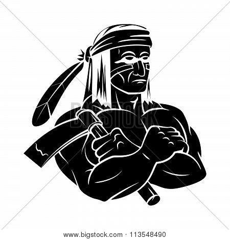 Apache Mascot tattoo