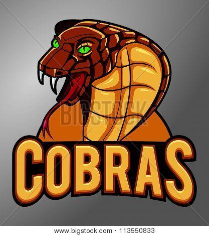 Cobras Mascot