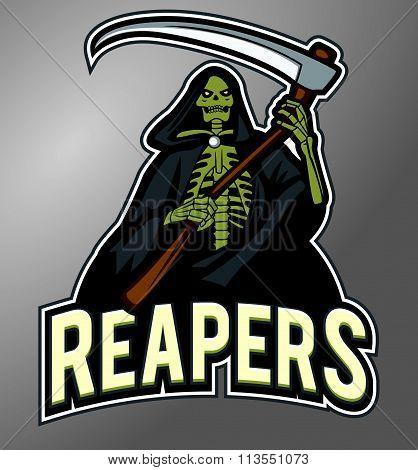 Mascot Grim Reaper