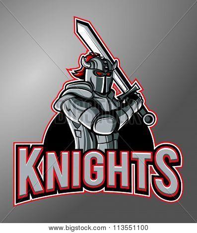 Knights Mascot