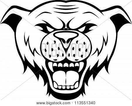 wild cat symbol illustration