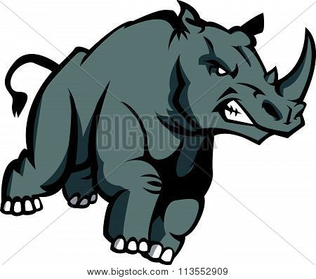 Rhino Illustration design