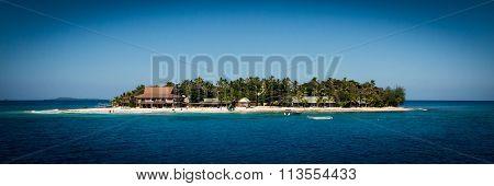 Panorama of island
