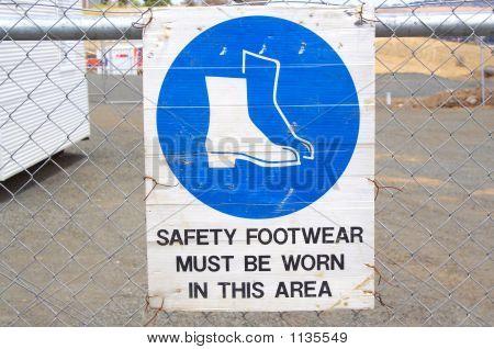 Footwear Sign
